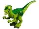 Part No: Raptor08  Name: Dinosaur Raptor / Velociraptor with Green Back