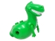 Part No: 89891pb01c01  Name: Dino Body 'Rex', Rubber Front Feet with White Belly Pattern