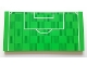 Part No: 90498pb16  Name: Tile 8 x 16 with Bottom Tubes with Soccer (Football) Pitch Goal Box and Penalty Area Pattern