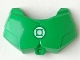 Part No: 98603pb001  Name: Large Figure Chest Armor Small with Green Lantern Logo Pattern