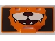 Part No: 10563pb01  Name: Duplo Container Box 2 x 4 x 2 Door with Handle with Smiling Lion Pattern