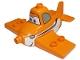 Part No: 13517pb01  Name: Duplo Airplane Disney's Planes Dusty Pattern