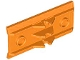 Part No: 2440  Name: Vehicle, Spoiler / Plow Blade 6 x 3 with Hinge