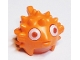 Part No: 25742c01pb01  Name: Minifigure, Headgear Mask Puffer Fish with Spikes and Fins, Trans-Clear Visor, White Eyes Pattern