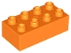 Part No: 3011  Name: Duplo, Brick 2 x 4