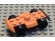 Part No: 30558c01  Name: Vehicle, Base 4 x 6 Racer Base with Black Wheels