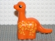 Part No: 31045pb02  Name: Duplo Dinosaur Brachiosaurus Baby with Yellow Spots Pattern