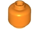 Part No: 3626c  Name: Minifigure, Head (Plain) - Hollow Stud