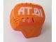 Part No: 44790pb01  Name: Sports Hockey Helmet with 'AT.01' Pattern (Sticker) - Set 7708