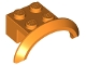 Part No: 98282  Name: Vehicle, Mudguard 4 x 2 1/2 x 1 with Arch Round