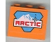 Part No: BA005pb04  Name: Stickered Assembly 3 x 1 x 2 with Arctic Logo Pattern (Sticker) - Set 6520 - 2 Bricks 1 x 3
