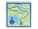 Part No: 3068bpb1011  Name: Tile 2 x 2 with Groove with Map Topographical Trail with Compass and 'Greeble Trail' Pattern