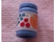 Part No: 33011cpb05  Name: Scala Accessories Jar Jam / Jelly, Label with Orange, Grapes and Berries Pattern (Sticker) - Set 3115