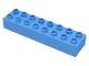Part No: 4199  Name: Duplo, Brick 2 x 8