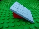 Part No: 4860c03  Name: Duplo Roofpiece Slope 30 4 x 4 Shingled with Red Base