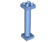 Part No: 57888  Name: Duplo Support Column 2 x 2 x 6 Round with Open Latticed Back