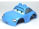 Part No: 88766pb01  Name: Duplo Car Body 2 Top Studs Sports Coupe with Cars Sally Pattern