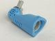 Part No: gal05  Name: Galidor Limb Mechanical Short, with 1 Light Gray Socket and 1 Light Gray Pin