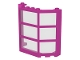 Part No: 30185c04  Name: Window Bay 3 x 8 x 6 with Trans-Clear Glass