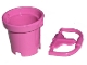 Part No: 48245c01  Name: Belville Utensil Bucket Round with Same Color Belville Handle for Basket / Bucket (48245 / 71861)
