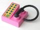 Part No: 6489  Name: Duplo Utensil Telephone on Brick 2 x 2