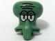 Part No: 64767pb01  Name: Minifigure, Head Modified Squidward Pattern