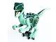 Part No: Raptor07  Name: Dinosaur Raptor / Velociraptor with Dark Green Back and Dark Blue Markings (Jurassic World Blue)