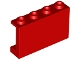 Part No: 14718  Name: Panel 1 x 4 x 2 with Side Supports - Hollow Studs