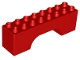 Part No: 18652  Name: Duplo, Brick 2 x 8 x 2 Arch