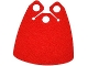 Part No: 19949  Name: Minifigure, Cape Cloth, Curved Bottom with 3 Top Holes