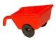 Part No: 2292c02  Name: Duplo Wheelbarrow with Black Wheels
