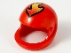 Part No: 2715px4  Name: Technic, Figure Accessory Helmet with Flame Pattern