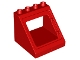 Part No: 27396  Name: Duplo Building Roof Section 4 x 4 x 3 with Window Opening