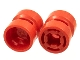 Part No: 30027b  Name: Wheel  8mm D. x 9mm (for Slicks), Hole Notched for Wheels Holder Pin
