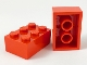Lot ID: 128022807  Part No: 3002old  Name: Brick 2 x 3 without Cross Supports
