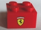 Part No: 3003pb092  Name: Brick 2 x 2 with Ferrari Logo Pattern on Both Sides (Stickers) - Set 75913