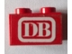 Part No: 3003pb097  Name: Brick 2 x 2 with 'DB' Pattern (Sticker) - Set 7725