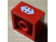 Part No: 3003pb111  Name: Brick 2 x 2 with White Double Arrow (Swiss Federal Railways) Pattern (Sticker) - Set 7725