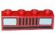 Part No: 3010p08  Name: Brick 1 x 4 with Car Headlights Pattern (Basic)