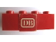 Part No: 3010pb086  Name: Brick 1 x 4 with 'DB' Pattern (Sticker) - Set 164