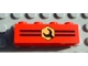 Part No: 3010px6  Name: Brick 1 x 4 with Stripes and Wrench Pattern