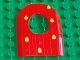 Part No: 31067pb01  Name: Duplo Door 1 x 4 x 4 2/3 Cave with Dewdrops Pattern