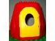 Part No: 31072c01  Name: Duplo Building Rock Cave with Door Opening, with Yellow Door
