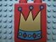 Part No: 31110pb004  Name: Duplo, Brick 2 x 2 x 2 with Crown Pattern