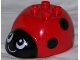 Part No: 31226pb02  Name: Duplo Ladybug Body
