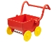 Part No: 31320c01  Name: Duplo Doll Pram (Baby Carriage, Stroller) Base