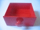 Part No: 31323  Name: Duplo Doll Furniture Cabinet Drawer 4 x 4 with Round Handle
