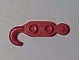 Part No: 3136  Name: Hook, Tow Hook with 2 Studs on Both Sides