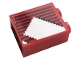 Part No: 3245cpb164  Name: Brick 1 x 2 x 2 with Inside Stud Holder with Gray Stripes and White Stripe Pattern (Sticker) - Set 10272