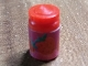 Part No: 33011cpb09  Name: Scala Accessories Jar Jam / Jelly, Label with Strawberries Pattern (Sticker) - Set 3149